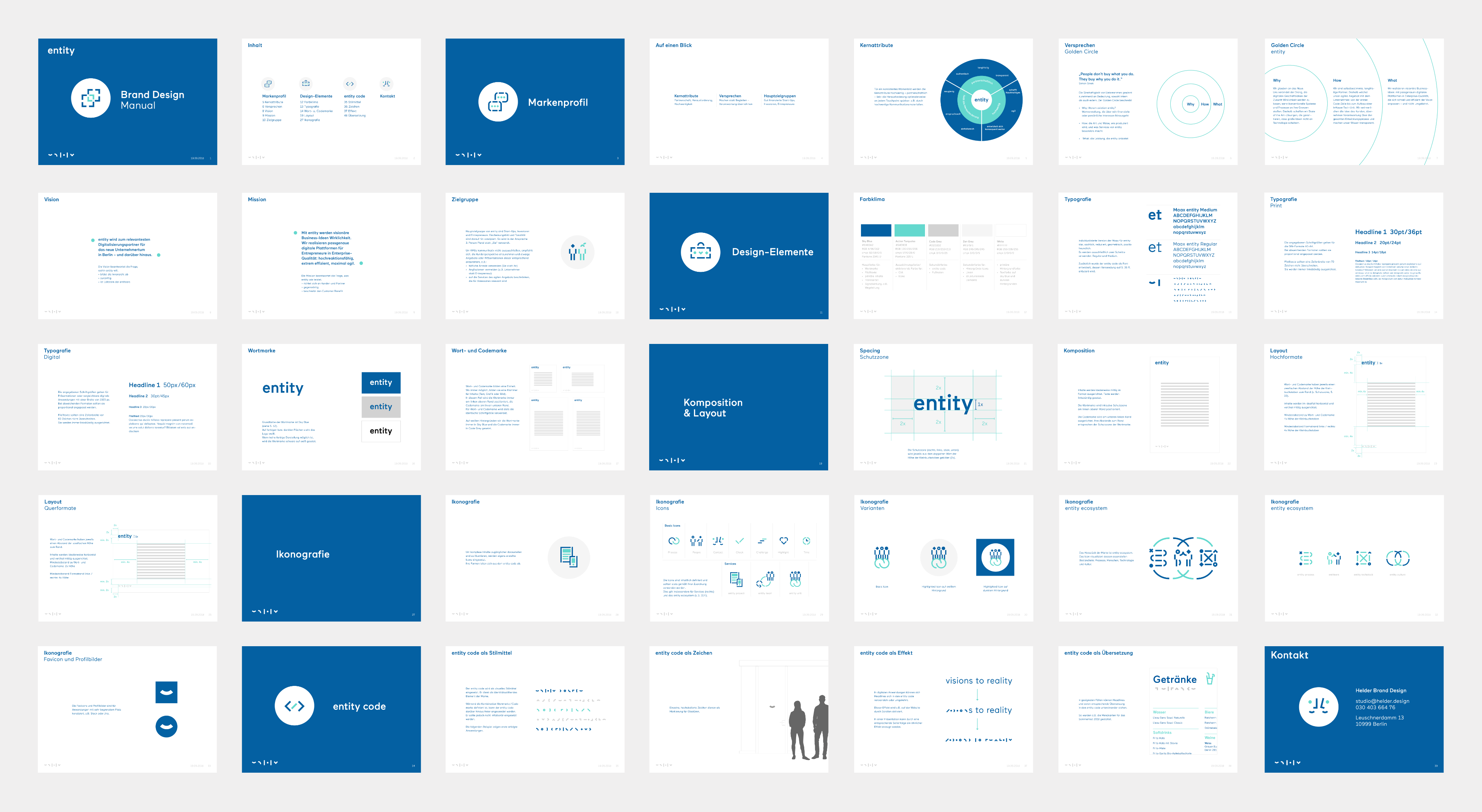 entity Brand Design Manual