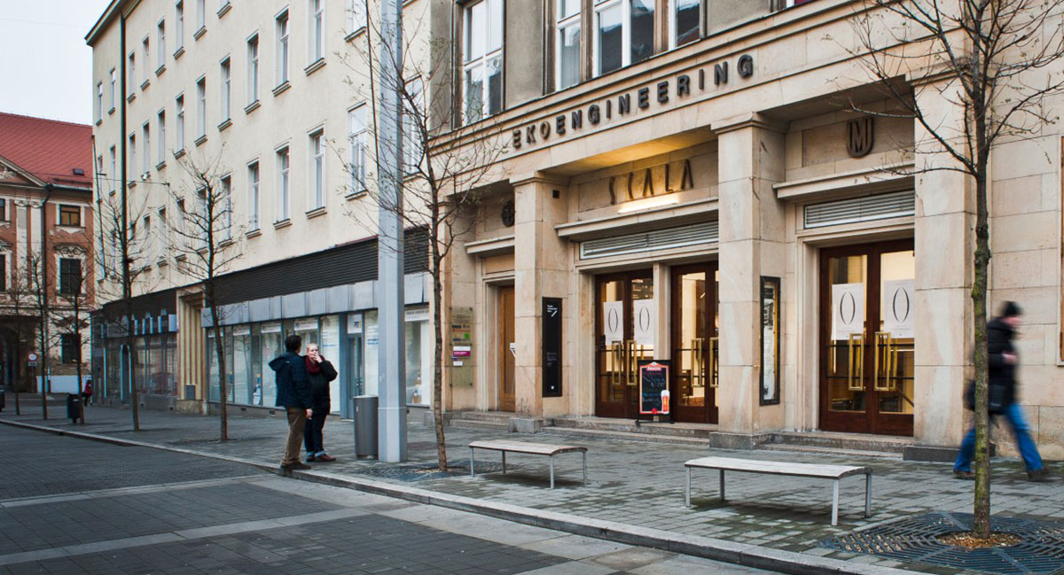 Graphic Design Bienial Brno Cinema Scala