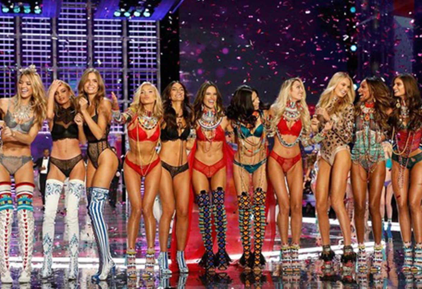 Victoria's Secret Fashion Show Finale 2017