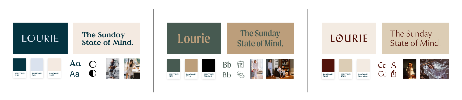 Lourie brand design directions