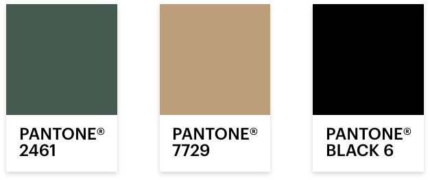 Lourie Pantone Farben