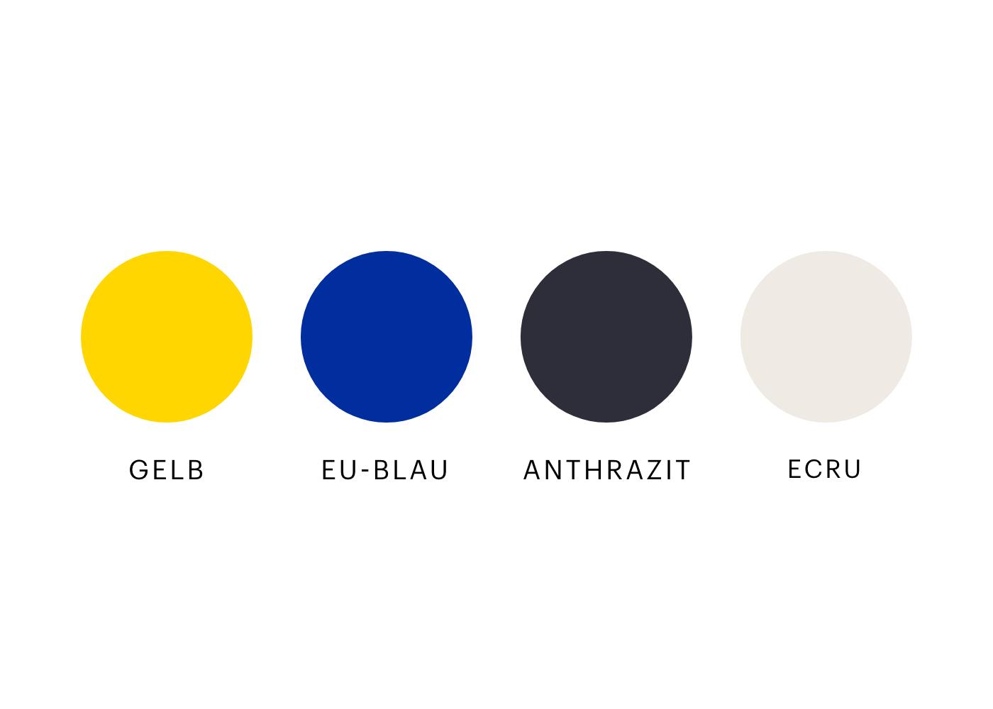 Ich wähle Europa Farbklima