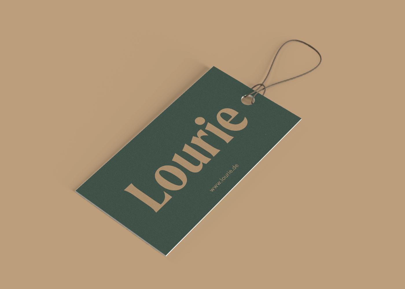 Lourie Hangtag Design