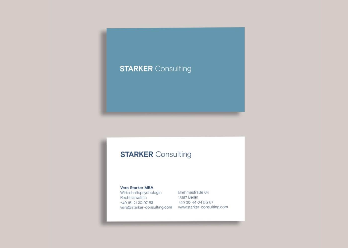 Visitenkarte STARKER Consulting
