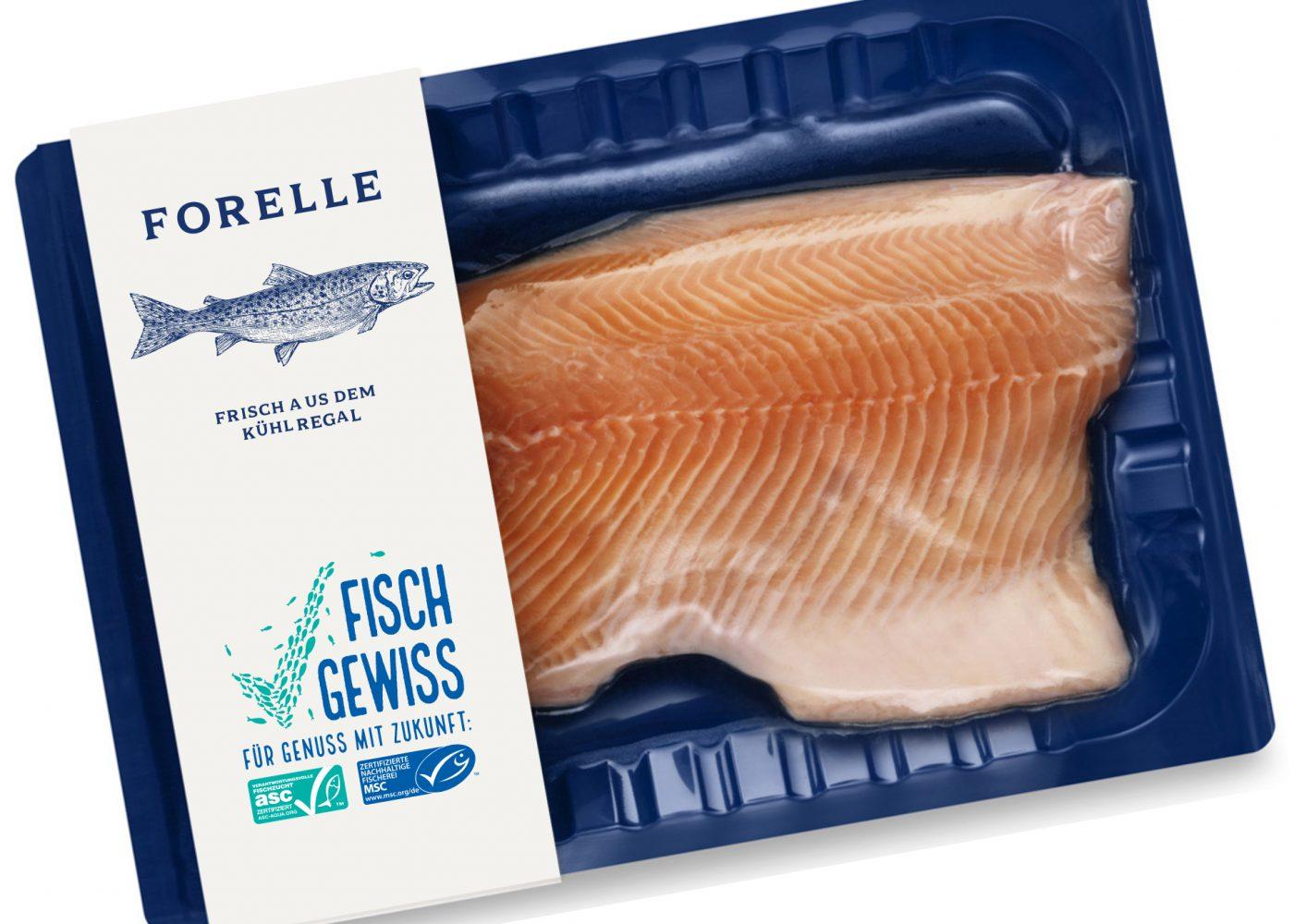 Fisch Gewiss Verpackung