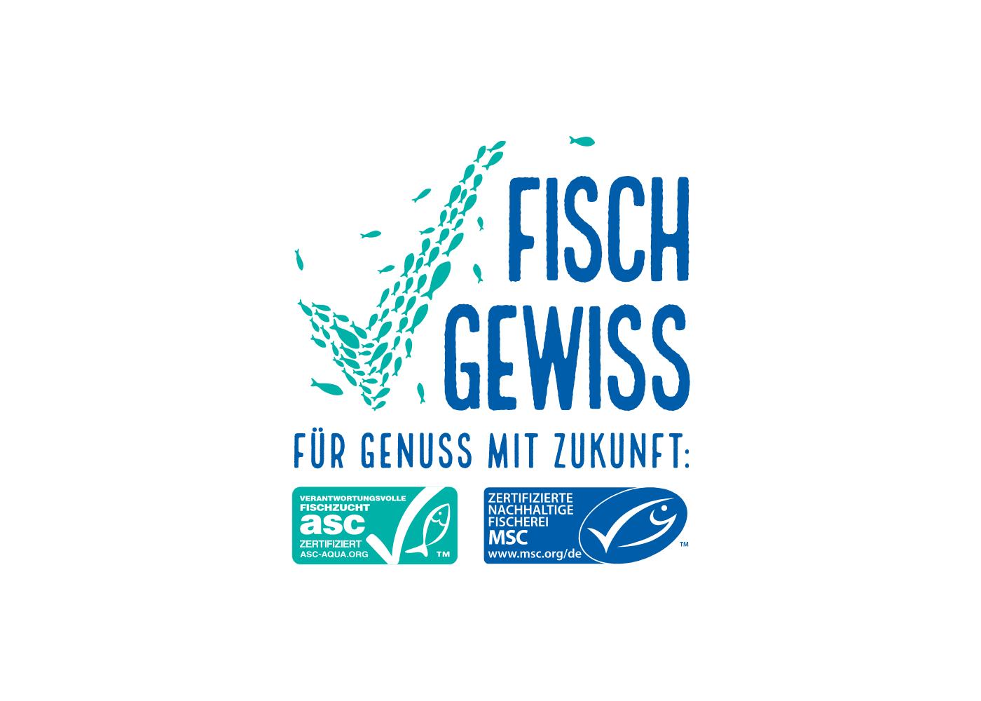 Fisch Gewiss Logogestaltung
