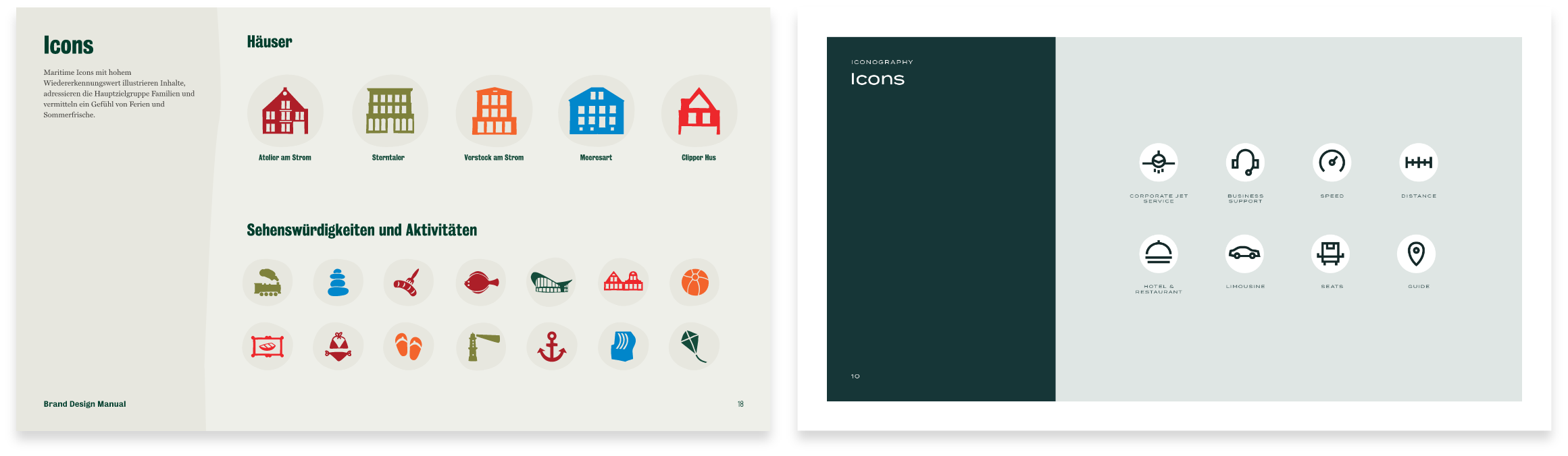 Brand Design Manual Icons