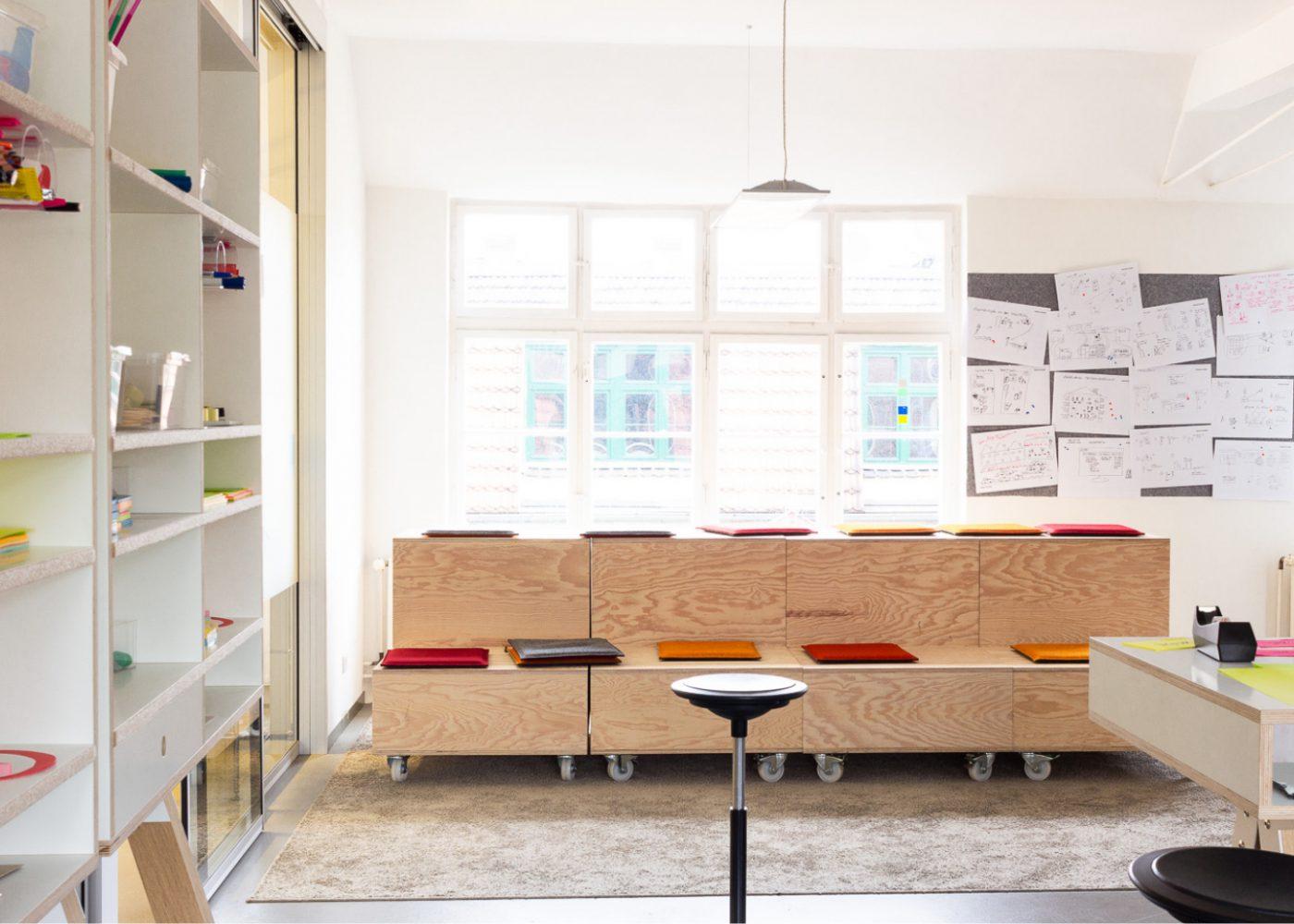 Helder Designstudio in Berlin-Kreuzberg Workshopraum