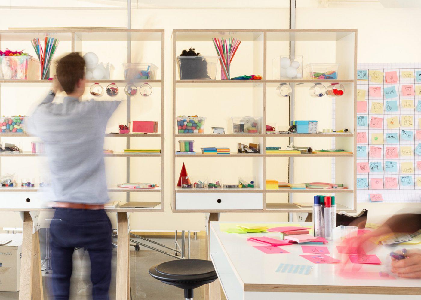 Helder Designstudio in Kreuzberg – Workshopraum