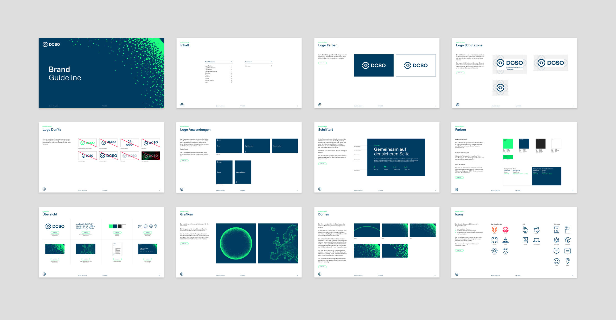 Brand Design Manual für DCSO