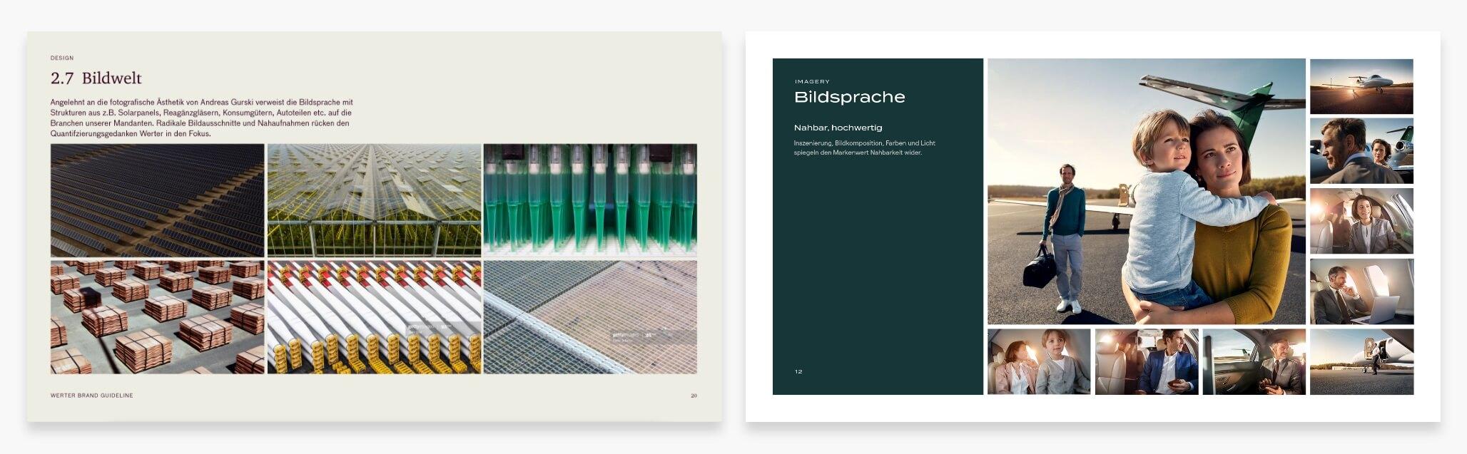 Brand Design Manual Bildstil