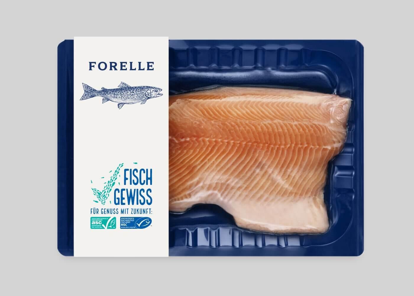 Fisch Verpackung